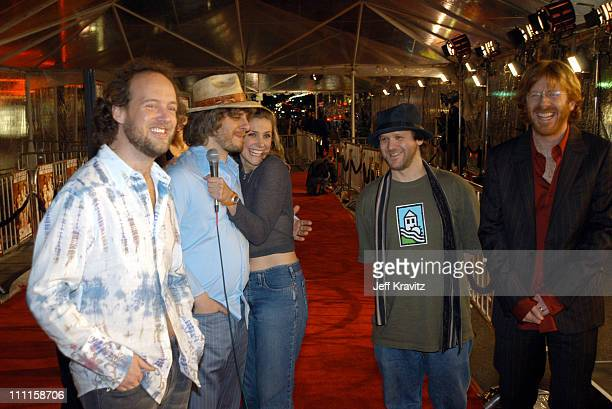 Phish during DreamWorks Premiere of 'Old School' Arrivals at Grauman's Chinese Theatre in Hollywood CA United States