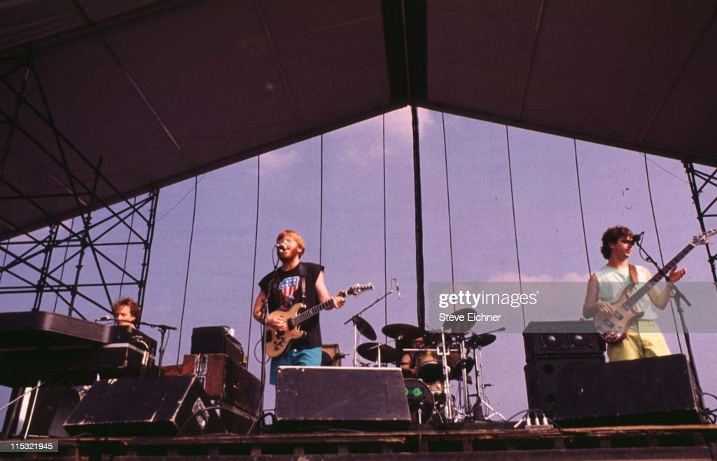 Phish during Phish in Concert - 7-20-1991 in New York City, New York, United States.