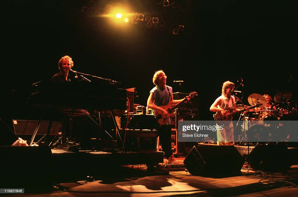 Phish during Phish in Concert at Jones Beach - 1992 at Jones Beach Theater in Wantagh, New York, United States.