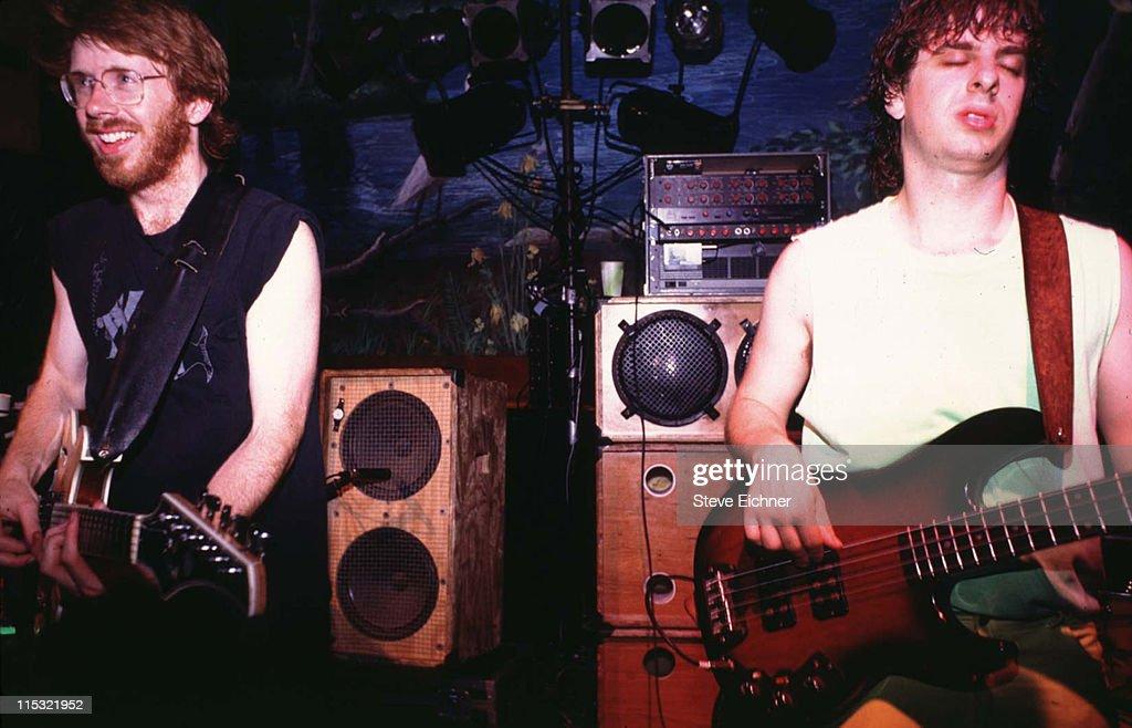 Phish in Concert at Wetlands - June 1990