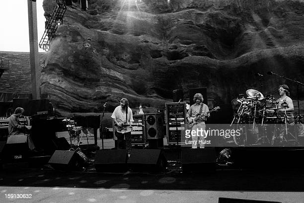 Phish performs at the Red Rocks Amplitaheater in Morrison Colorado on June 10 1995