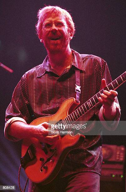 Phish performs live during a concert September 30 2000 in Las Vegas NV