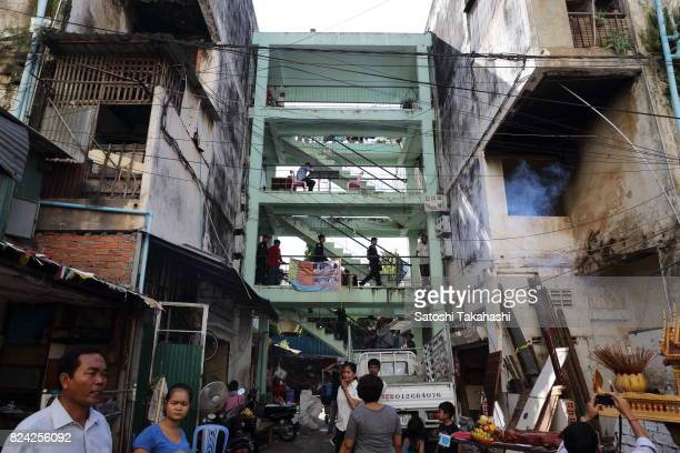 Phnom Penh's iconic White Building It was built in 1963 as a modern Municipal Apartment The iconic building is slated to be demolished and replaced...