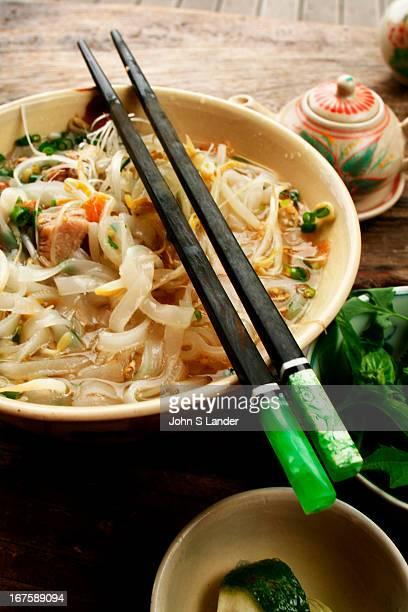 Pho Vietnamese noodle soup originally from Hanoi