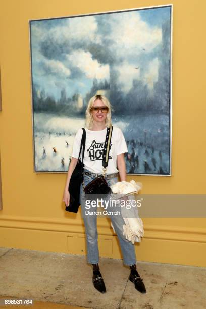 Phoebe Arnold attends the Roksanda handbag celebration breakfast at the Royal Academy of Arts on June 16 2017 in London England