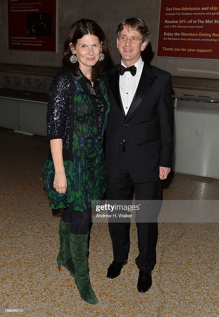 Phoebe Campbell and MET Director Thomas P. Campbell attend the 10th annual Apollo Circle benefit at Metropolitan Museum of Art on November 14, 2013 in New York City.