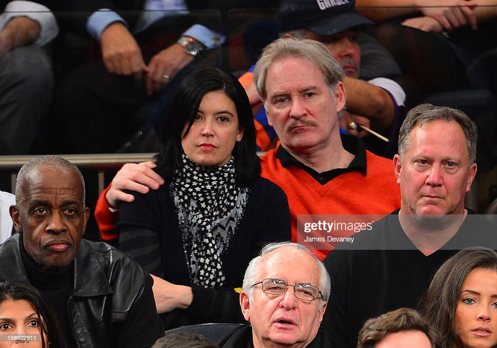 <a gi-track='captionPersonalityLinkClicked' href=/galleries/search?phrase=Phoebe+Cates&family=editorial&specificpeople=215394 ng-click='$event.stopPropagation()'>Phoebe Cates</a> and Kevin Kline attend the San Antonio Spurs vs New York Knicks game at Madison Square Garden on January 3, 2013 in New York City.