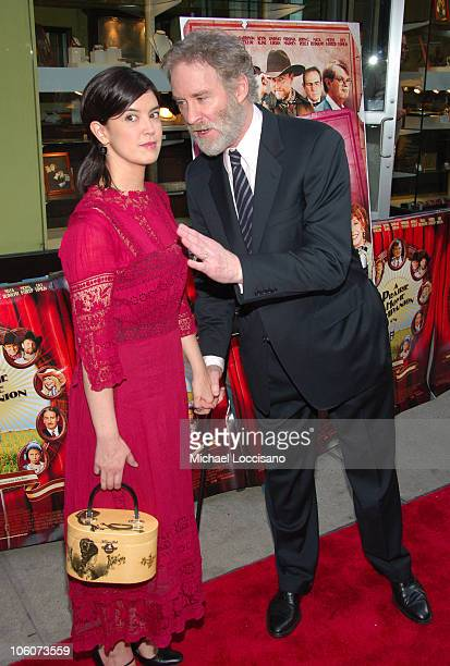 Phoebe Cates and Kevin Kline during 'A Prairie Home Companion' New York Premiere Arrivals at DGA Movie Theatre in New York City New York United States