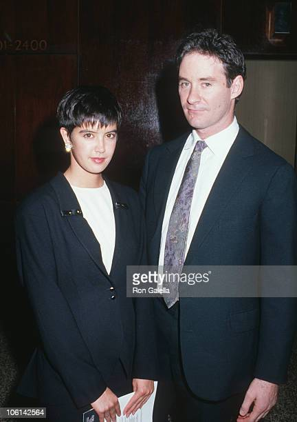 Phoebe Cates and Kevin Kline during 'Cry Freedom' Premiere Party November 1 1987 at New York Hilton Hotel in New York City New York United States
