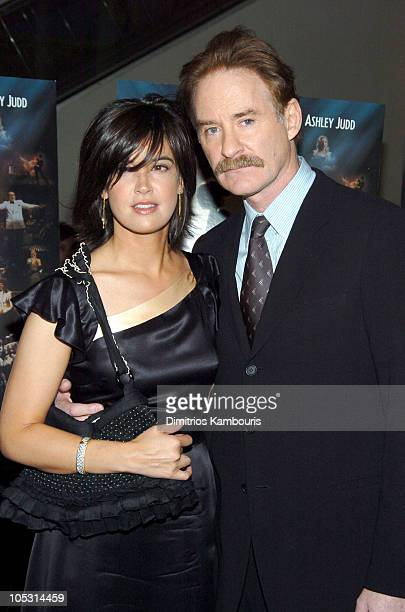 Phoebe Cates and Kevin Kline during 'DeLovely' New York Premiere Inside Arrivals at Loews Lincoln Square in New York City New York United States