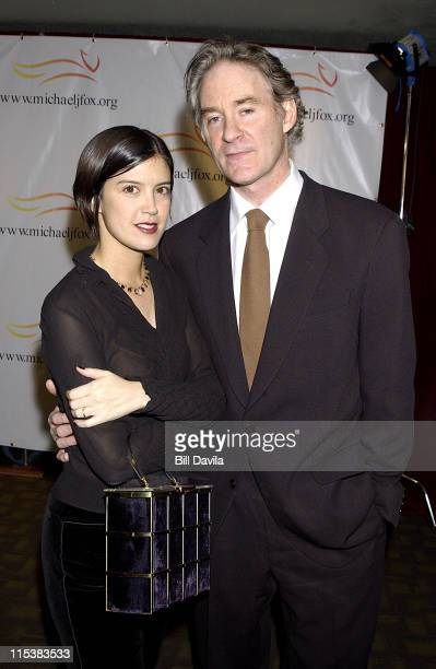 Phoebe Cates and Kevin Kline during Foundation for Parkinson's Research 'A Funny Thing Happened On The Way To Cure Parkinson's' Inaugural Benefit at...