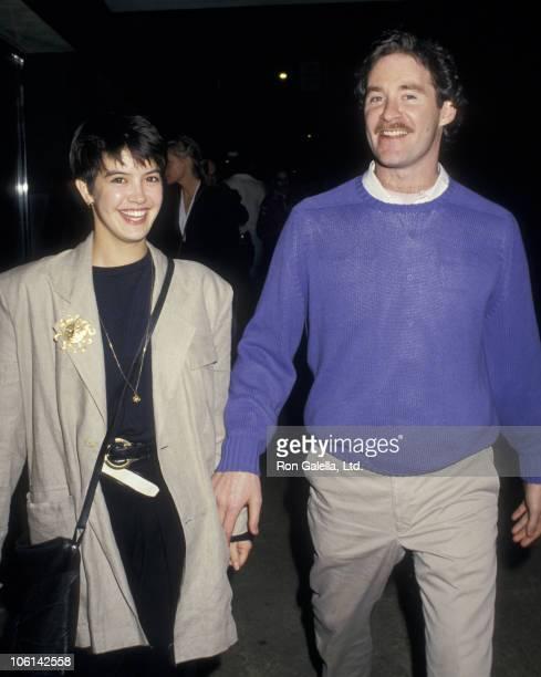 Phoebe Cates and Kevin Kline during 'Ishtar' Screening May 7 1987 at Ziegfeld Theater in New York City New York United States