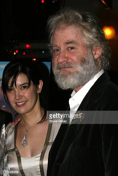 Phoebe Cates and Kevin Kline during 'King Lear' Opening Night After Party at The Public Theater in New York NY United States