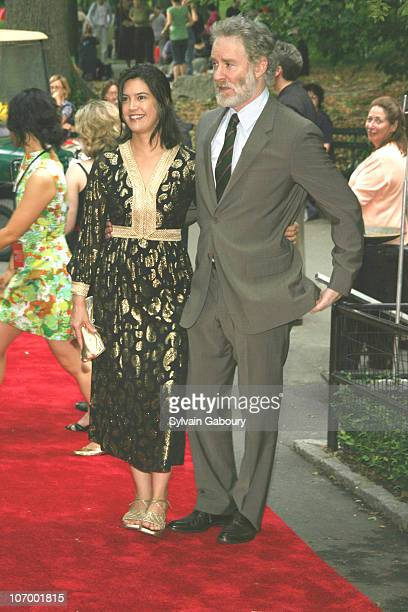 Phoebe Cates and Kevin Kline during Public Theater Gala and Opening of Shakespeare in the Park at Delacourt Theater Central Park in New York New York...
