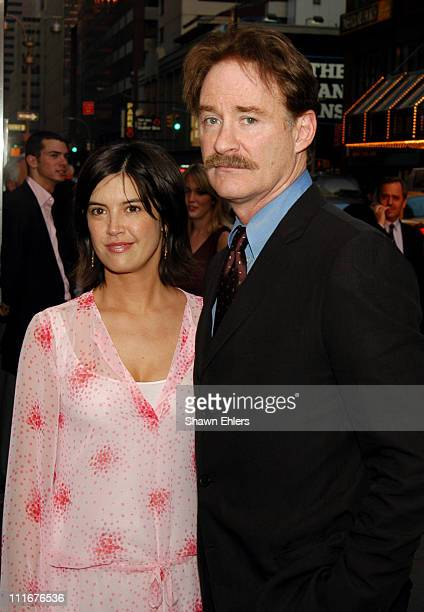 Phoebe Cates and Kevin Kline during The Museum of Modern Art's 36th Annual Party in the Garden Honoring Steve Martin at Roseland in New York City NY...