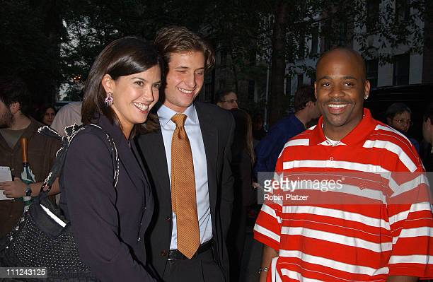 Phoebe Cates Peter Cincotti and Damon Dash during PS 6 Library Renovation Benefit Concert by Peter Cinccotti at Public School 6 in New York City New...