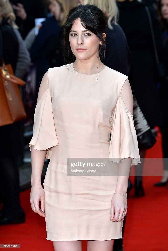 Phoebe Fox attends the UK premiere of 'Eye In The Sky' on April 11, 2016 in London, United Kingdom.