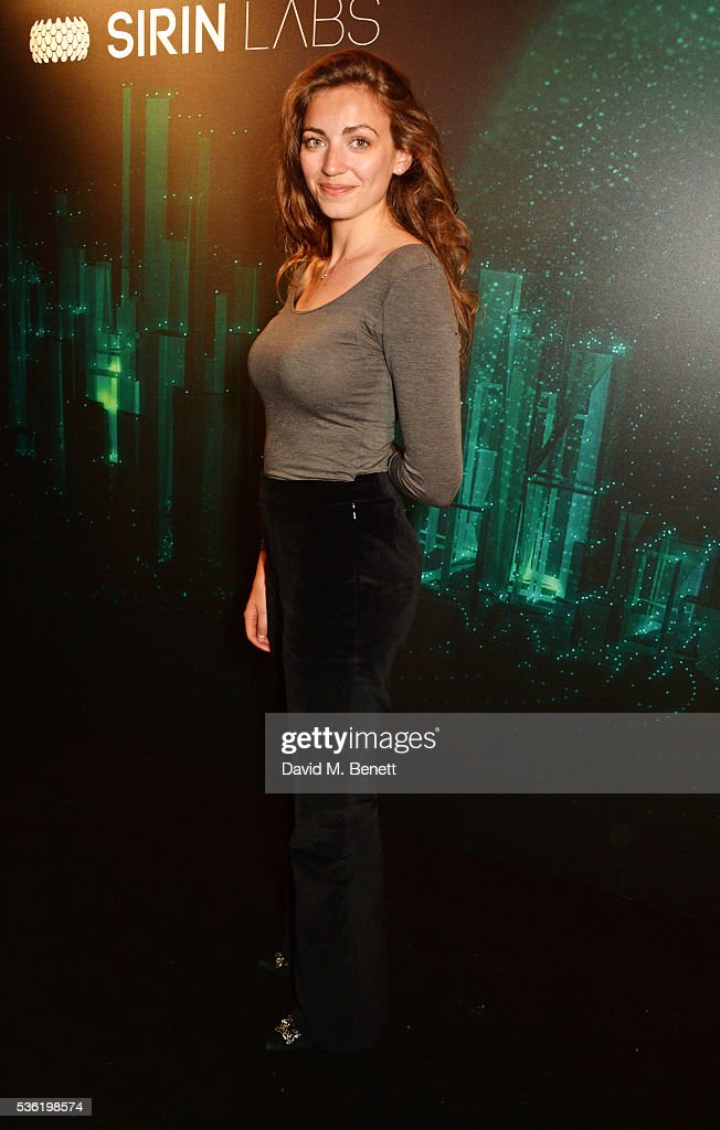 Phoebe Gormley attends as SIRIN LABS Launches SOLARIN at One Marylebone on May 31, 2016 in London, England.