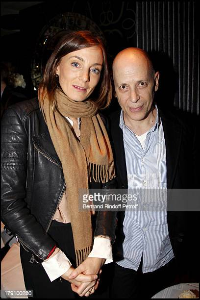 Phoebe Philo Adrian Joffe at The Dinner Party Hosted By Vincent Darre At Castel