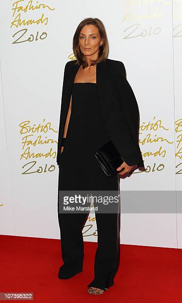 Phoebe Philo arrives at British Fashion Awards at The Savoy Theatre on December 7 2010 in London England