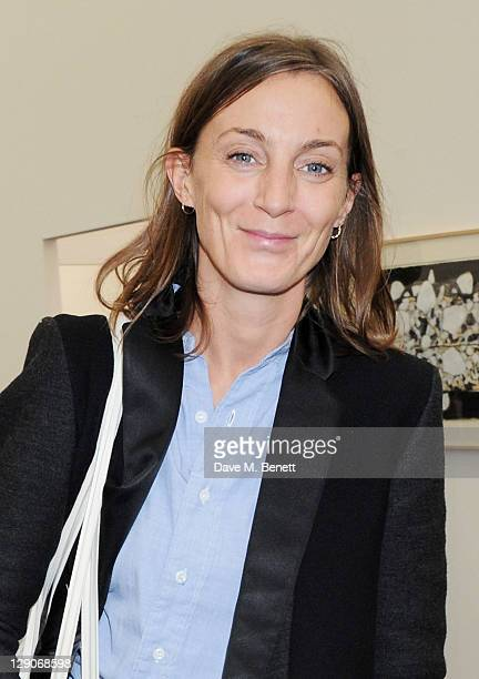 Phoebe Philo attends a VIP preview of the Frieze Art Fair in Regent's Park on October 12 2011 in London England