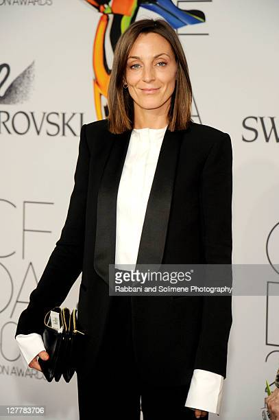 Phoebe Philo attends the 2011 CFDA Fashion Awards at Alice Tully Hall Lincoln Center on June 6 2011 in New York City