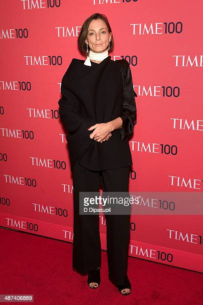 Phoebe Philo attends the 2014 Time 100 Gala at Frederick P Rose Hall Jazz at Lincoln Center on April 29 2014 in New York City
