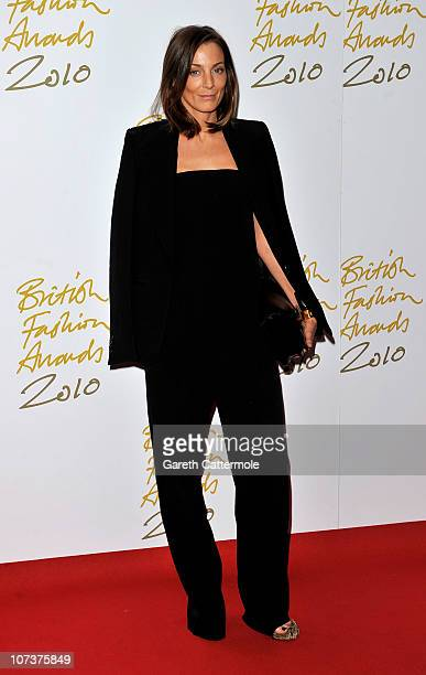 Phoebe Philo attends the British Fashion Awards at The Savoy on December 7 2010 in London England