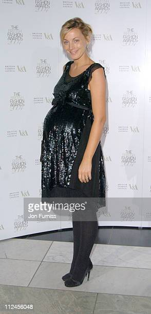 Phoebe Philo during British Fashion Awards 2004 Inside at V A in London Great Britain
