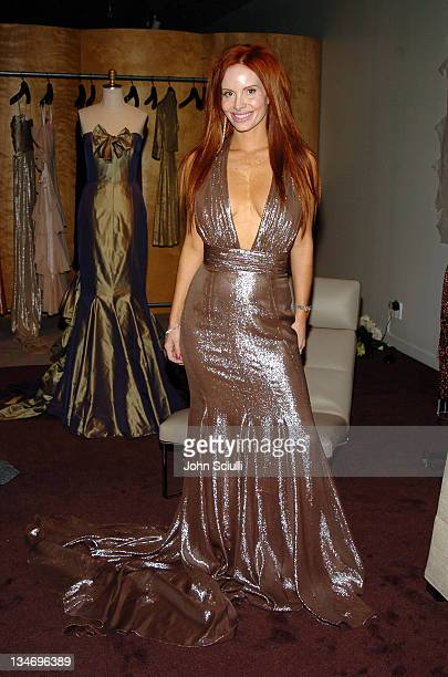 Phoebe Price at Top Button during Red Carpet '05 Oscar Suite Day Three at Pacific Design Center in West Hollywood California United States
