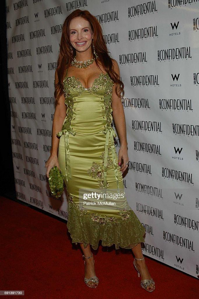 Phoebe Price attends Los Angeles Confidential Magazine Pre Oscar Bash Celebrates Cover Boy Jamie Foxx sponsored by Godiva at the W Hotel Los...