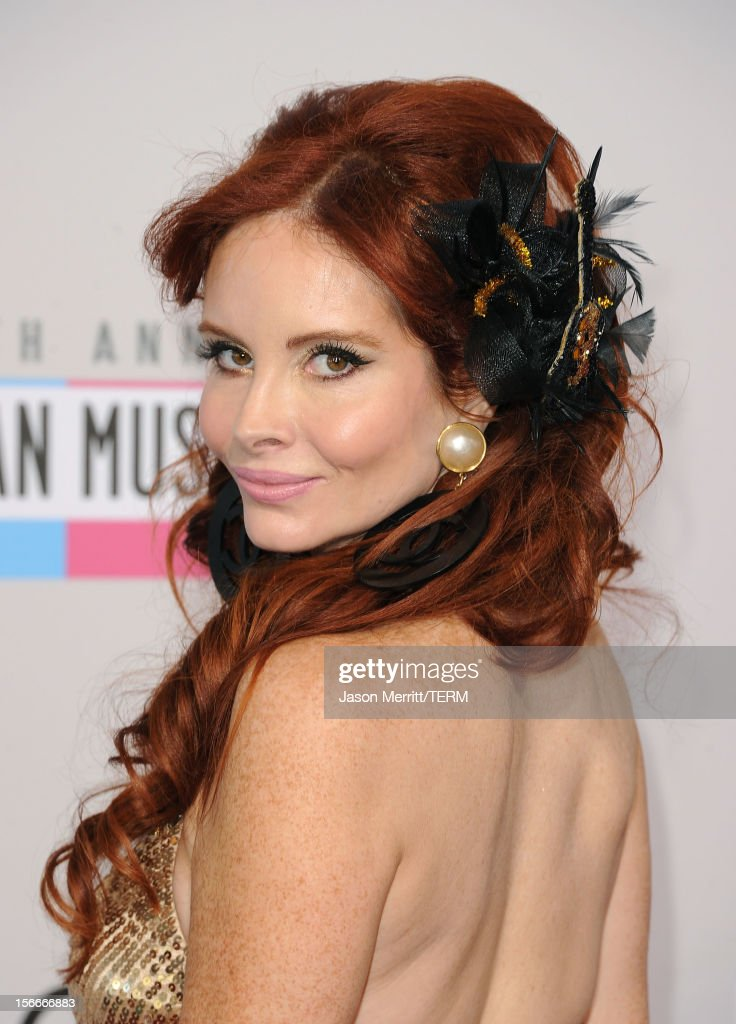 Phoebe Price attends the 40th American Music Awards held at Nokia Theatre L.A. Live on November 18, 2012 in Los Angeles, California.