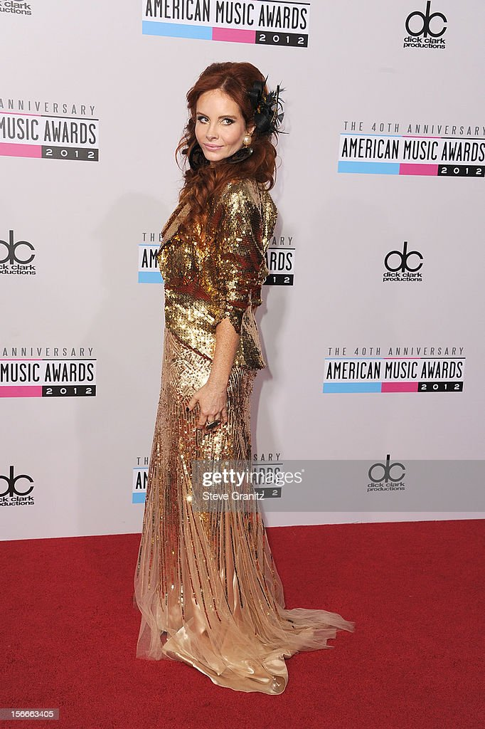 Phoebe Price attends the 40th Anniversary American Music Awards held at Nokia Theatre L.A. Live on November 18, 2012 in Los Angeles, California.