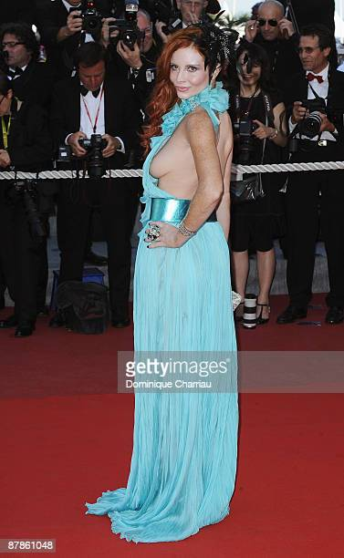Phoebe Price attends the 'Looking for Eric' premiere at the Grand Theatre Lumiere during the 62nd Annual Cannes Film Festival on May 18 2009 in...