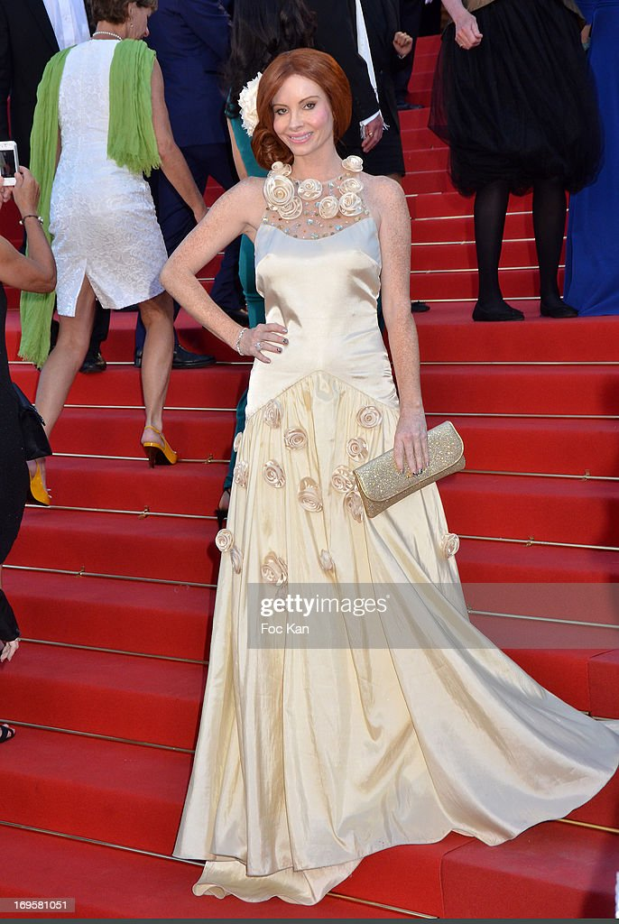 Phoebe Price attends the Premiere of 'Zulu' and the Closing Ceremony of The 66th Annual Cannes Film Festival at Palais des Festivals on May 26, 2013 in Cannes, France.