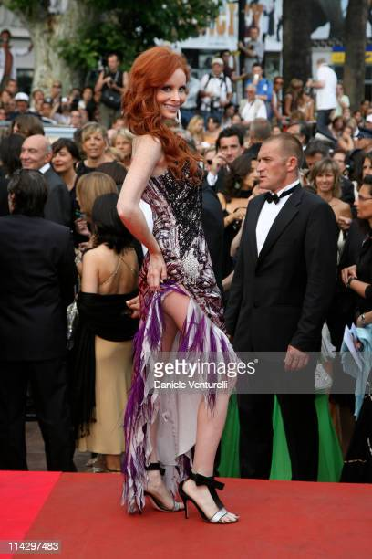 Phoebe Price during 2007 Cannes Film Festival 'Auf der Anderen Seite' Premiere at Palais des Festival in Cannes France