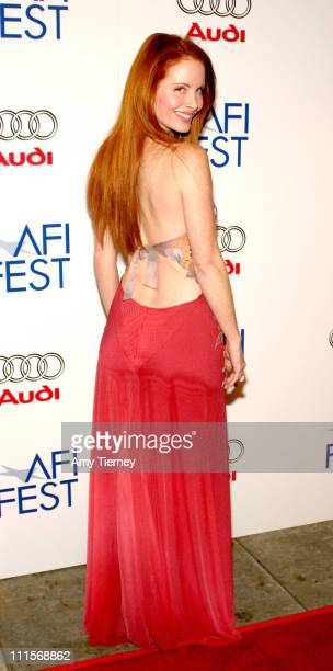 Phoebe Price during AFI Fest 2005 Centerpiece Gala Presentation of 'The Three Burials of Melquiades Estrada' Arrivals in Los Angeles California...