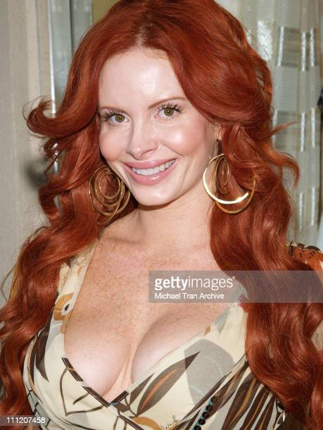 Phoebe Price during Fashion Party for Alan Del Rosario August 24 2006 at Linda McNair Boutique in West Hollywood California United States