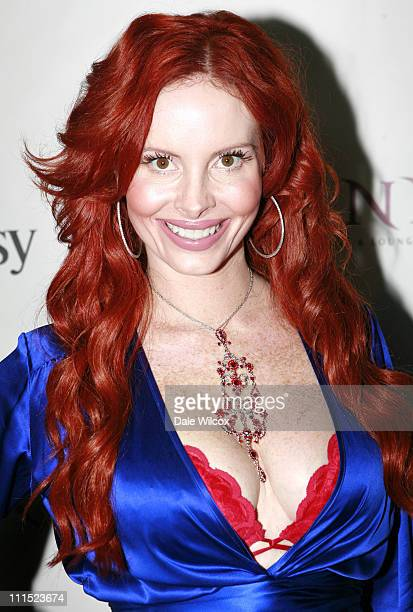 Phoebe Price during Minx Event in Los Angeles California United States