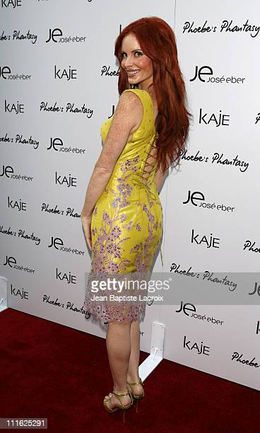 Phoebe Price during Phoebe Price Launches 'Phoebe's Phantasy' by Lotion Glow at Kaje Store in Beverly Hills California United States