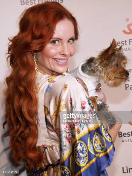 Phoebe Price during The Lint Roller Party Best Friends Animal Society's Annual Fundraiser Benefiting Homeless Pets in Los Angeles at Smashbox Studios...