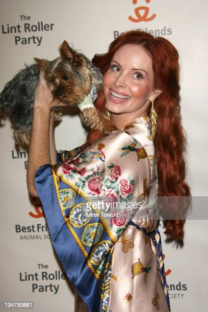 Phoebe Price during 'The Lint Roller Party' Best Friends Animal Society's Annual FundRaiser at Smashbox in Los Angeles California United States