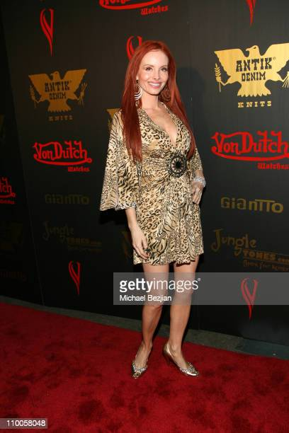 Phoebe Price during Tricia Helfer of Battlestar Galcatica Party to Celebrate the Release of the February Issue of Playboy at Les Deux in Los Angeles...