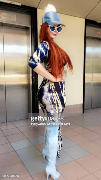 Phoebe Price is seen on May 23 2017 in Los Angeles CA