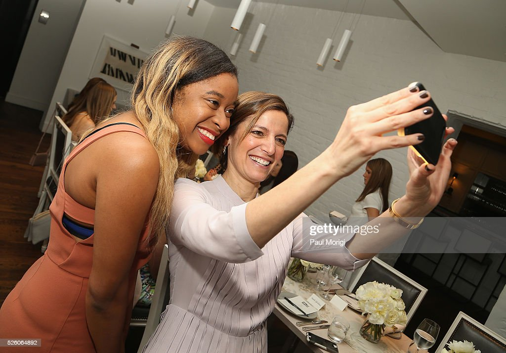 Phoebe Robinson and Editor in Chief of Glamour magazine, Cindi Leive attends the Glamour and Facebook brunch to discuss sexism in 2016, during WHCD Weekend at Kinship on April 29, 2016 in Washington, DC.