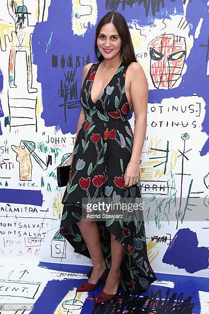 Phoebe Stephens attends the alice olivia x Basquiat CFDA Capsule Collection launch party on November 2 2016 in New York City