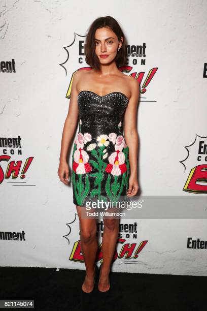 Phoebe Tonkin at Entertainment Weekly's annual ComicCon party in celebration of ComicCon 2017 at Float at Hard Rock Hotel San Diego on July 22 2017...