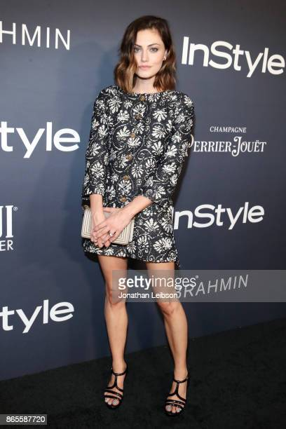 Phoebe Tonkin at the 2017 InStyle Awards presented in partnership with FIJI WaterAssignment at The Getty Center on October 23 2017 in Los Angeles...