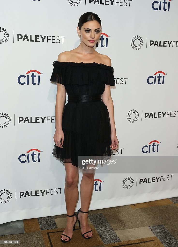Phoebe Tonkin attends the 2014 PaleyFest - 'The Vampire Diaries' & 'The Originals' held at Dolby Theatre on March 21, 2014 in Hollywood, California.