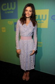 Phoebe Tonkin attends The CW Network's 2014 Upfront at The London Hotel on May 15 2014 in New York City